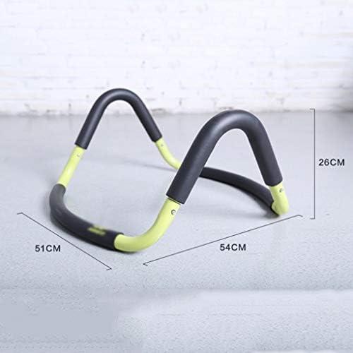 筋力トレーニング プッシュアップバーが腕立て伏せをV字型ヨガボールラック実践胸の筋肉腕立て伏せホーム腹部の筋肉フィットネス機器 プッシュアップバー (Color : Black, Size : 54*51*26cm)