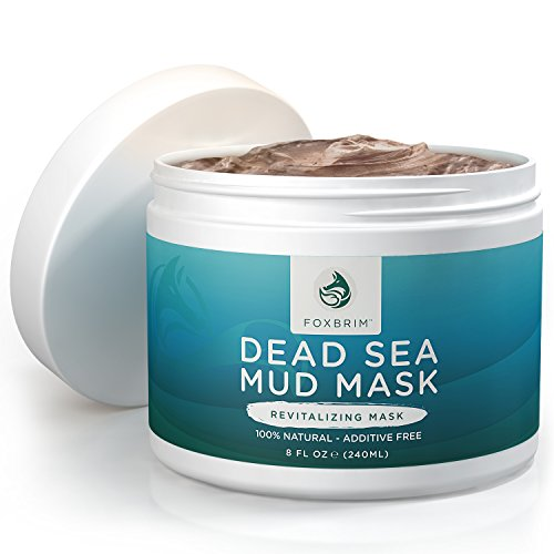 Foxbrim Dead Sea Mud Mask - 100% Natural Clay Mask