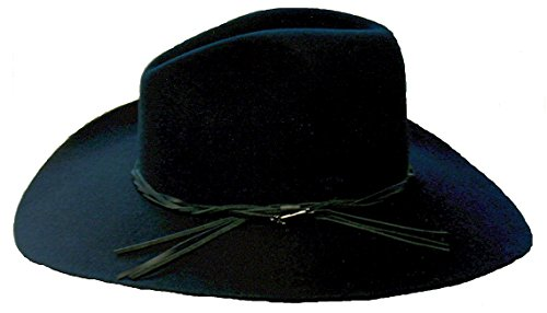 Stetson Men's Gus Felt Hat Black 7 1/4