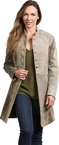 New Frocks (Overland Sheepskin Co Zena Frock New Zealand Lambskin Leather Coat)
