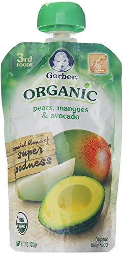 Gerber Organic 3rd Foods Fruits