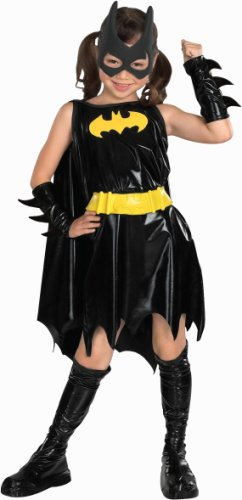 Super DC Heroes Batgirl Child's Costume, Small (Girl Joker Halloween Costume)