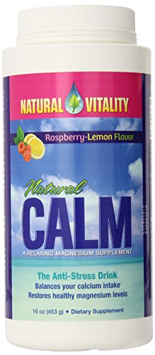Natural Vitality Natural Calm Raspberry Lemon 16 oz
