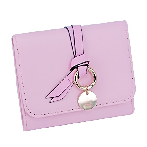 ABC STORY Womens Cute Small Wallet For Teen Girls Pink for sale  Delivered anywhere in USA