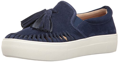 J Slides JSlides Women's Aztec Fashion Sneaker Navy Suede discount deals mbBO88MfEv