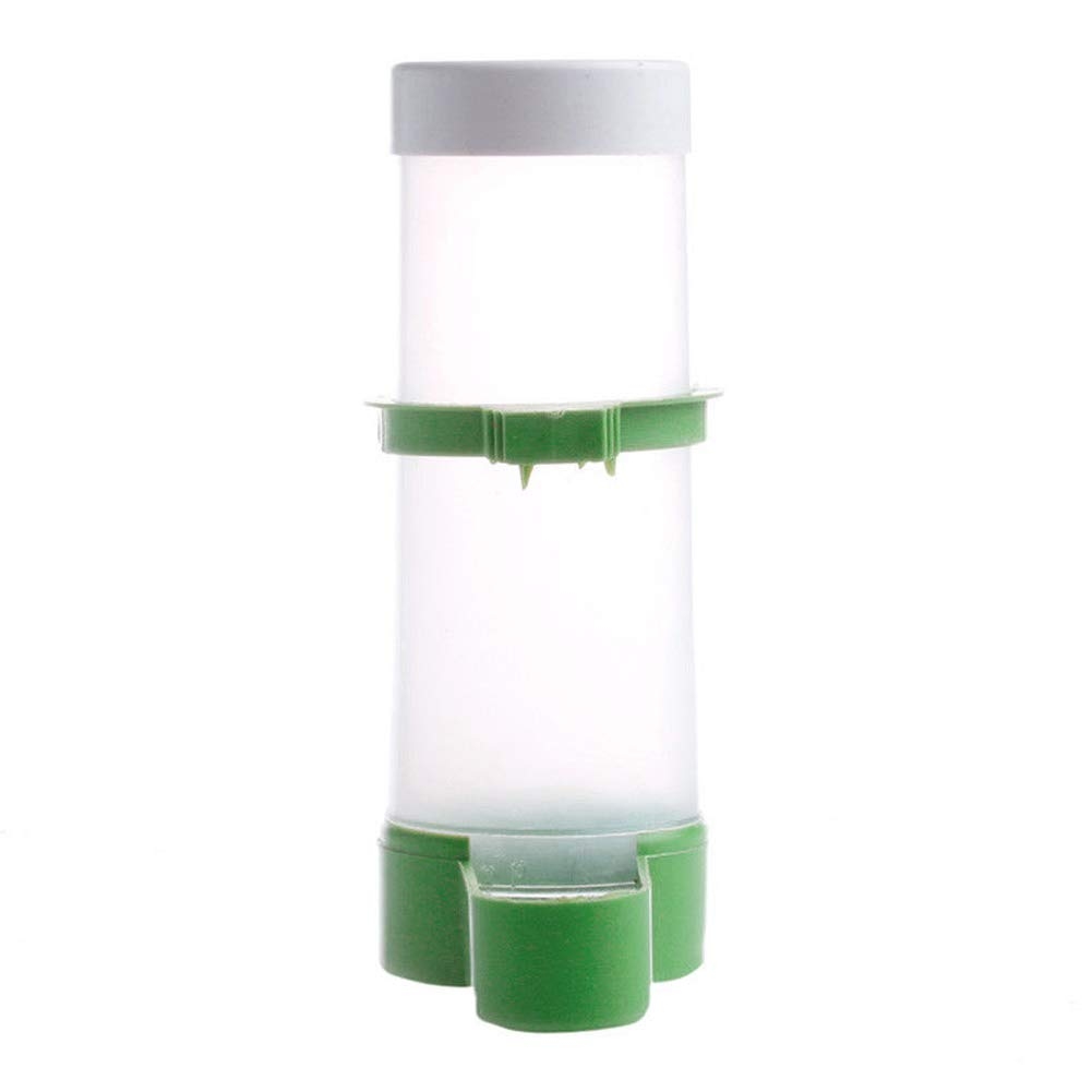 eroute66 Aviary Budgie Cockatiel Birds Feeding Equipment Parrot Feeder Pet Supplies Tool One Color