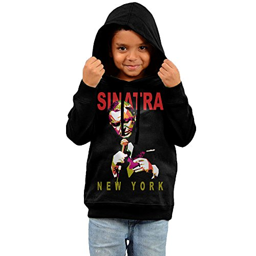 kyy-kids-frank-sinatra-boys-girls-hoodie-black-size-4-toddler