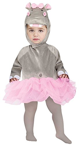 Little Girls Infant Hippo Costume Infant Up To 24 (Baby Hippo Costume)