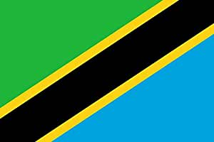 magFlags XXL Flag Tanzania, United Republic of   landscape flag   3.375m²   36sqft   150x225cm   5x7.5ft - 100% Made in Germany - long lasting outdoor flag