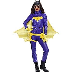 Charades Batgirl Ladies Jacket Set Costume