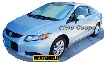 Sunshade For Honda Civic Coupe Si Coupe 2012 2013 2014 2015 HEATSHIELD  Brand Custom Fit