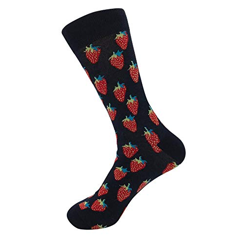 Socks Unisex Crew Tronet Unisex Casual Cotton Cute Fruits Socks Fashion Mens Women Socks
