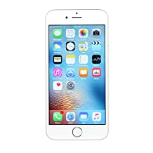 Apple iPhone 6 Silver 16GB Unlocked Smartphone (Certified Refurbished)
