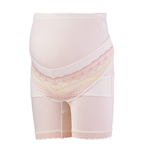 FUN fun Women's Maternity Support Belt Shorts Girdle M Beige by FUN fun