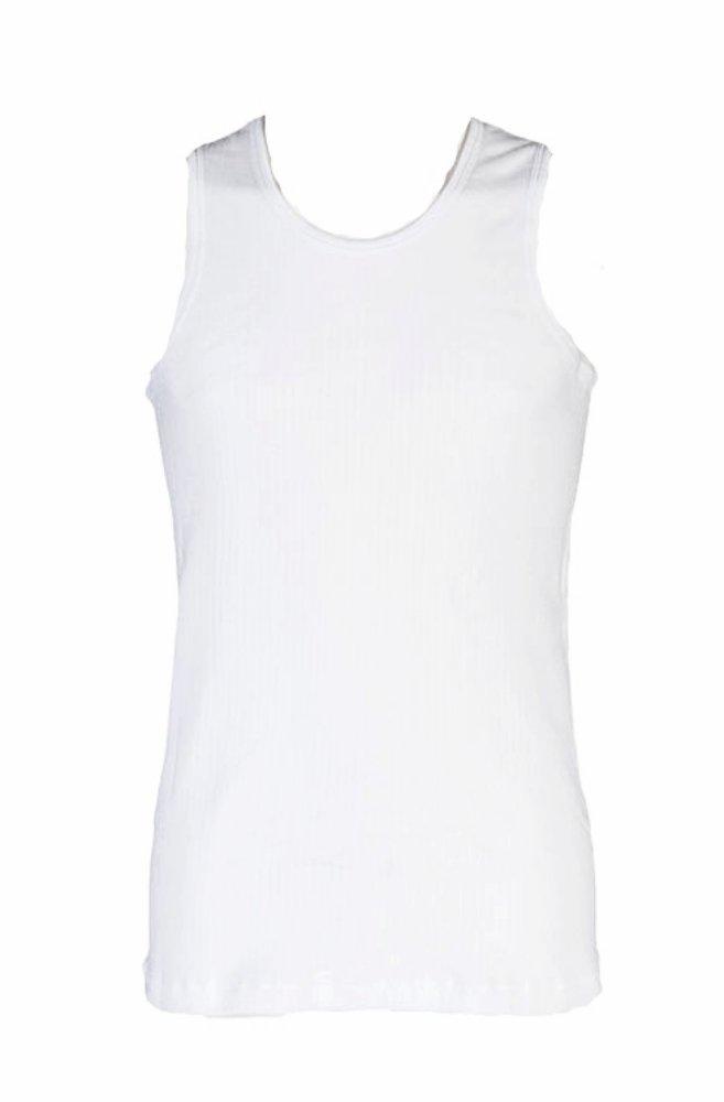 1 no. Mens Heat Holders Thermal Underwear Sleeveless Rib Vest Top Seamless Body 2 Colours 4 Sizes HHMSLV