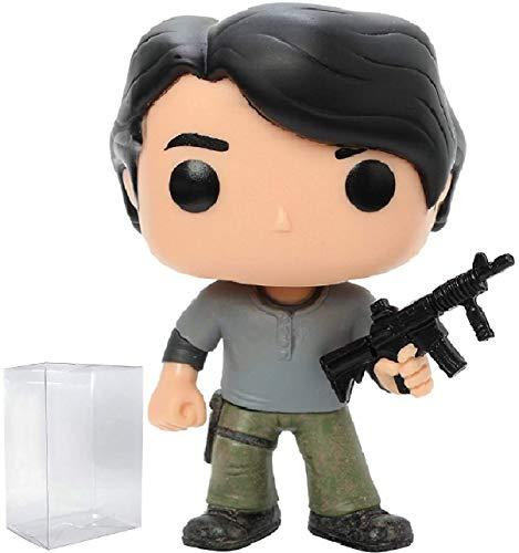Walking Dead: Prison Glenn Rhee Funko Pop! Vinyl Figure (Includes Compatible Pop Box Protector Case)]()