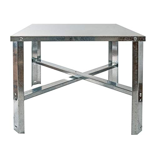 Eastman 86279 Water Heater Stand 75-100 Gallon, Silver ()