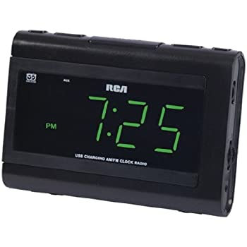 amazon com rp5435 dual wake am fm clock radio home audio theater rh amazon com 32 RCA TV Remote RCA Dual Wake Clock Radio