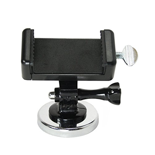 Livestream Gear - Magnetic Phone Mount PRO for Streaming, Video, or Photos. Great for WOD; Fitness Streams at Home, or Gym. Adjustable Phone Mount. (Pro Magnetic Phone) ()