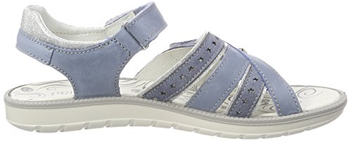 Primigi Pal 13806, Sandalias con Punta Abierta Para Niñas Blu (Bluette)