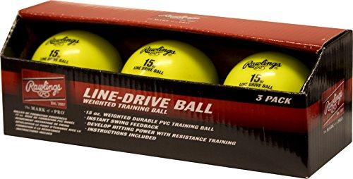 - Rawlings LDBALL3PK Line-Drive Training Ball (3 PK)