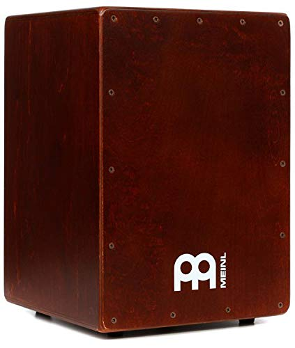 (Meinl Percussion Cajon Box Drum with Internal Snares - MADE IN EUROPE - Baltic Birch Wood Compact Size, 2-YEAR WARRANTY (JC50BR))