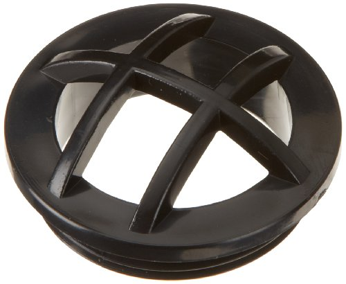 Hayward SP1026BLK Black Fixed Grate Insert Replacement for Hayward 1-1/2-Inch MIP Inlet Fitting