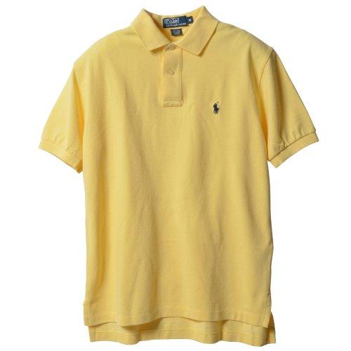 Polo Ralph Lauren Classic Fit Mesh Pony Logo Polo Shirt (S, WicktYellow)