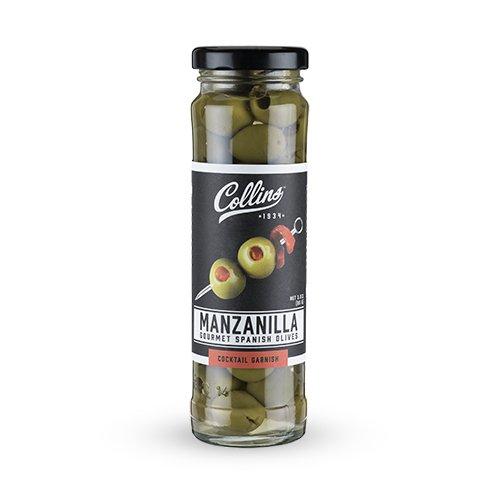 Collins 3oz. Manzanilla Martini Pimento Olives