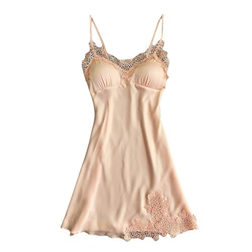 Glaciers Silk Sexy Silk Ribbons Robe Dress Babydoll Nightdress Ladies Spaghetti Strap Sleepwear
