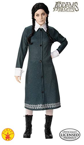 Wednesday Addams Halloween Costume Pattern (Rubie's Addams Family Animated Movie Wednesday Adult Costume, As Shown,)