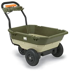 Neuton 22721 12-Volt 2-Speed Self-Propelled Battery-Powered Electric 5-Cubic Foot Garden Cart with 200-Pound Capacity