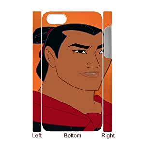 iphone4 Phone Case White Mulan General Li CYL8660341