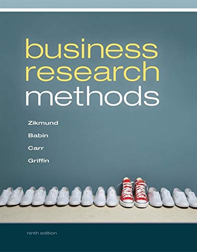 Business Research Methods (with Qualtrics Printed Access -