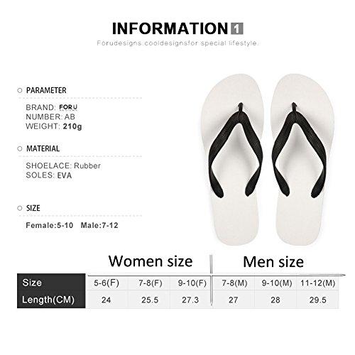 För U Designar Snygga Lätta Womens Mens Personlig Galax V Flip Flops Galaxy 10