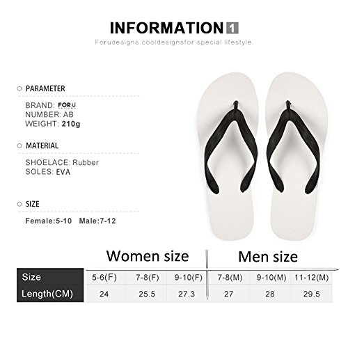 FOR U DESIGNS Stylish Lightweight Womens Mens Personalized Galaxy V Flip Flops Galaxy 9 TfEI85E167