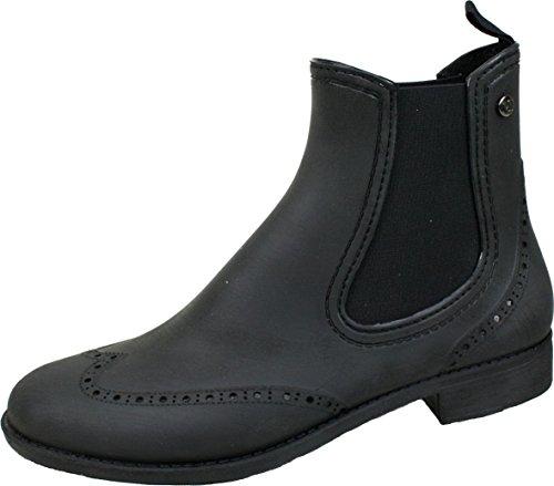 BOCKSTIEGEL® CHELSEA Mujer - Medio Botas de goma con estilo | Chelsea Boots | A prueba de agua | Elegante | Exclusivo Brushed