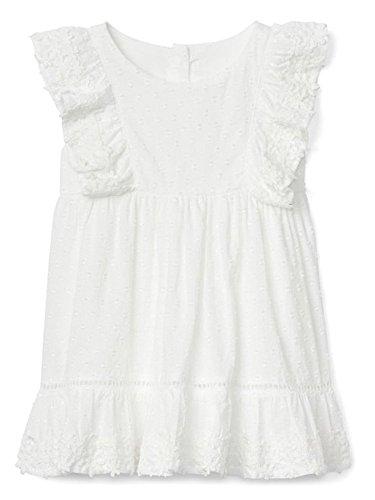 Swiss Dot Eyelet - BabyGap White Eyelet Ruffle Dress 12-18 Months