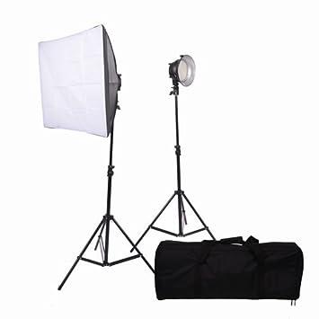promaster vl380 led 2 light studio kit