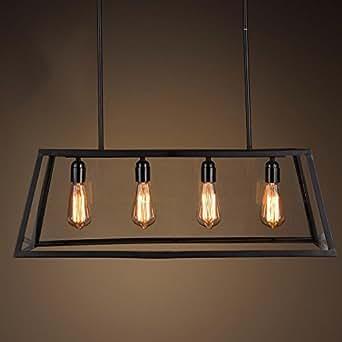 TYDXSD Retro Dining Room Lighting Living Room Loft American Industrial Wind S
