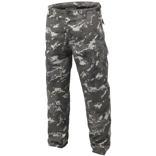 Mil-Tec BDU Ranger Combat Trousers Digital Black size M