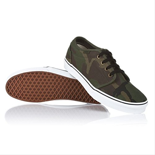 Vans Men's 106 Vulcanized Jungle Camouflage Rifle Green VN-099ZNX1 (11.0 men/12.5 (106 Vulcanized Vans)