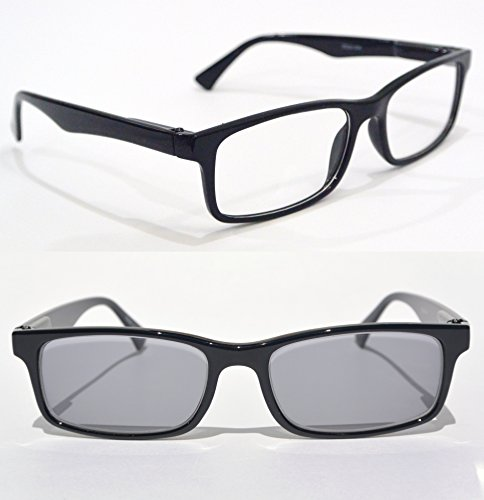 transition NEARSIGHTED READING GLASSES for distance myopia with PHOTOCHROMIC LENS minus power - Sunglasses Power 1.00