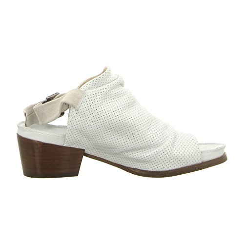 dkode 12579.005 - Sandalias de vestir de Piel Lisa para mujer blanco