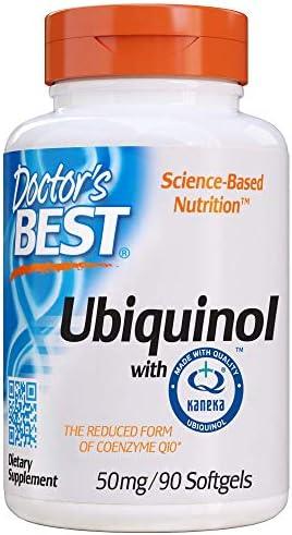 Doctor's Best, Ubiquinol mit Kaneka, 50mg, 90 Weichkapseln