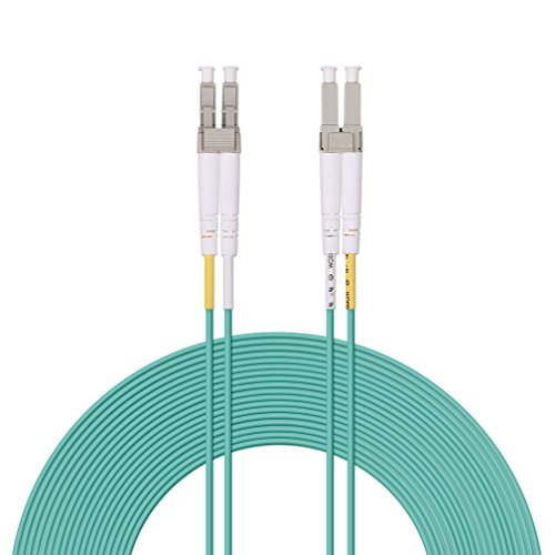 - Fiber Patch Cable - LC to LC OM3 10Gb/Gigabit Multi-mode Duplex 50/125 LSZH Fiber Optic Cord for SFP Transceiver, Computer Fiber Networks and Fiber Test Equipment, 10-Meter(33ft)