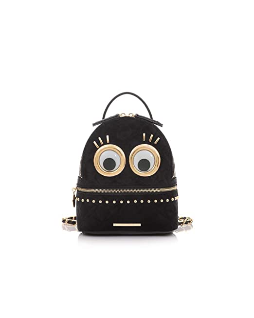 nuovi stili d1eec 32944 LE PANDORINE Eyes Mini Backpack donna, zaino, arancione