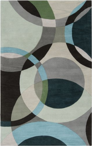 Hand Tufted Contemporary Rug - 7