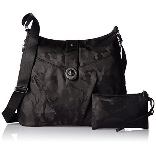 Baggallini HEL868 Women's Helsinki Shoulder Bag, Black Camo by Baggallini (Image #2)