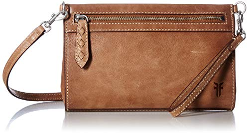 FRYE Reed Leather Wristlet Crossbody Bag, tan -  DB0246-TAN